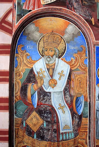 saint nicholas - saint nicolas photos et images de collection