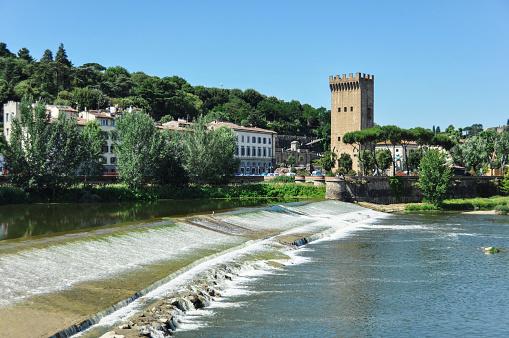 Saint Nicolas dam in Florence