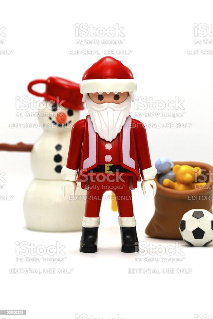 Saint of Christmas royalty-free stock photo