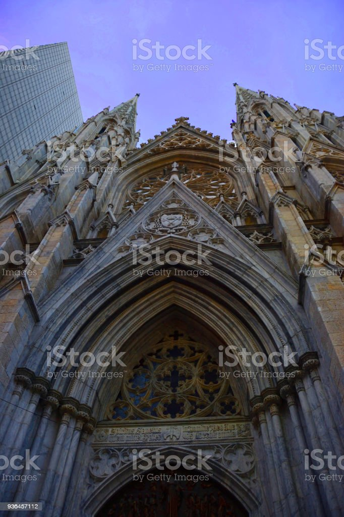 Saint Patrick Cattedral stock photo