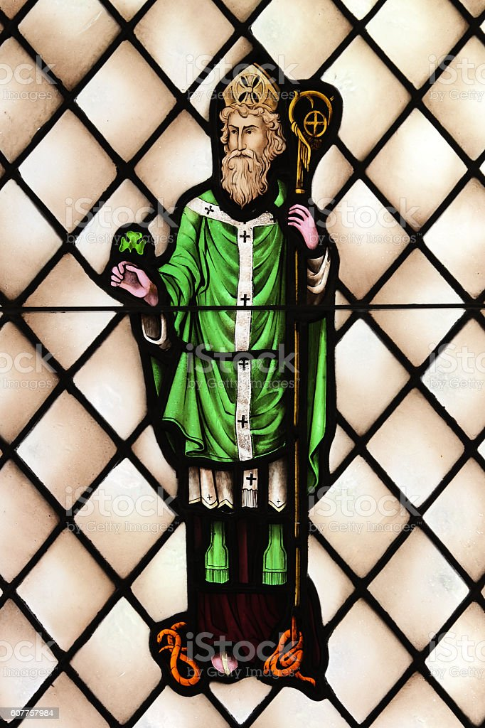 Saint Patrick Ireland Apostle Priest stock photo