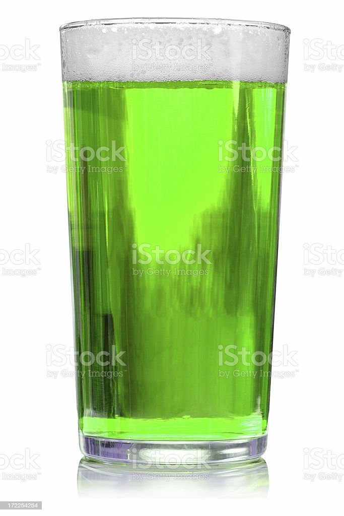 Saint Patrick's Day Green Beer royalty-free stock photo