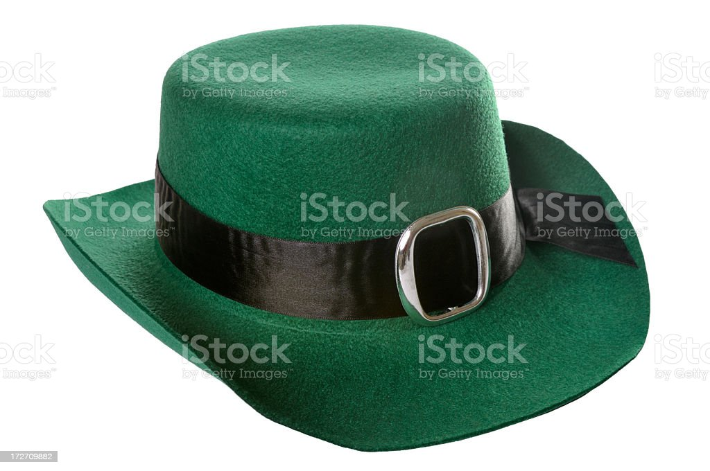 Saint Patrick's Day hat royalty-free stock photo