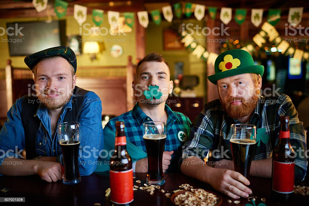 Saint Patrick's Day party stock photo