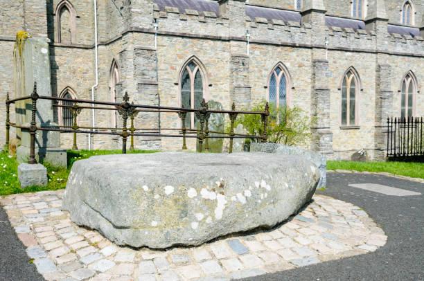 Grab von Saint Patrick in down Cathedral, Downpatrick – Foto