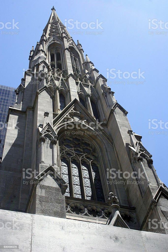 Saint Patrics Cathedral royalty-free stock photo