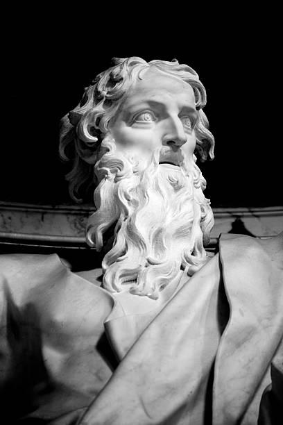 Saint Paul Apostle stock photo