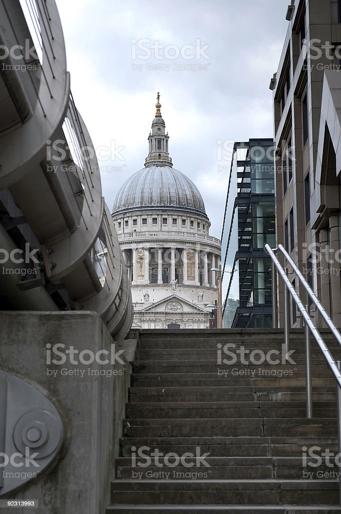 Saint Paul Cathedral royalty-free stock photo