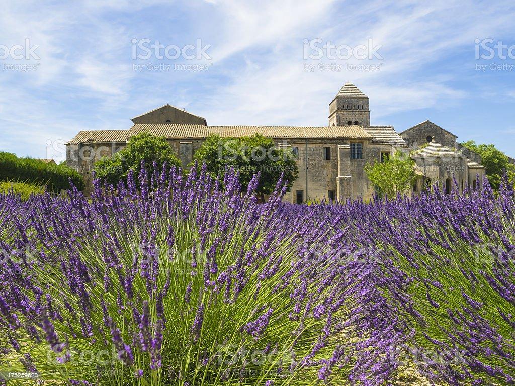 Saint Paul de Mausole Asylum stock photo