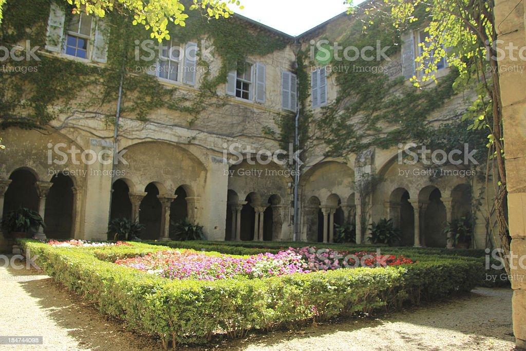 saint paul de mausole monastery stock photo