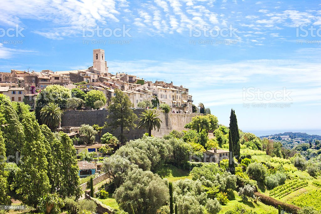 Saint Paul de Vence, Süden von Frankreich – Foto