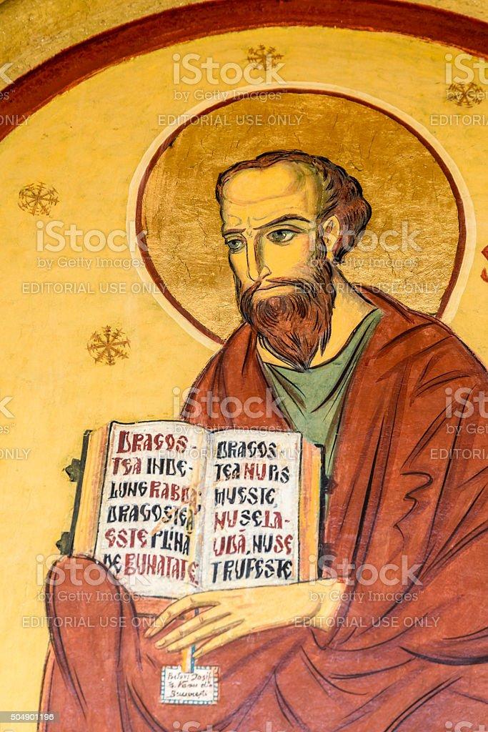 Saint Paul Painting stock photo