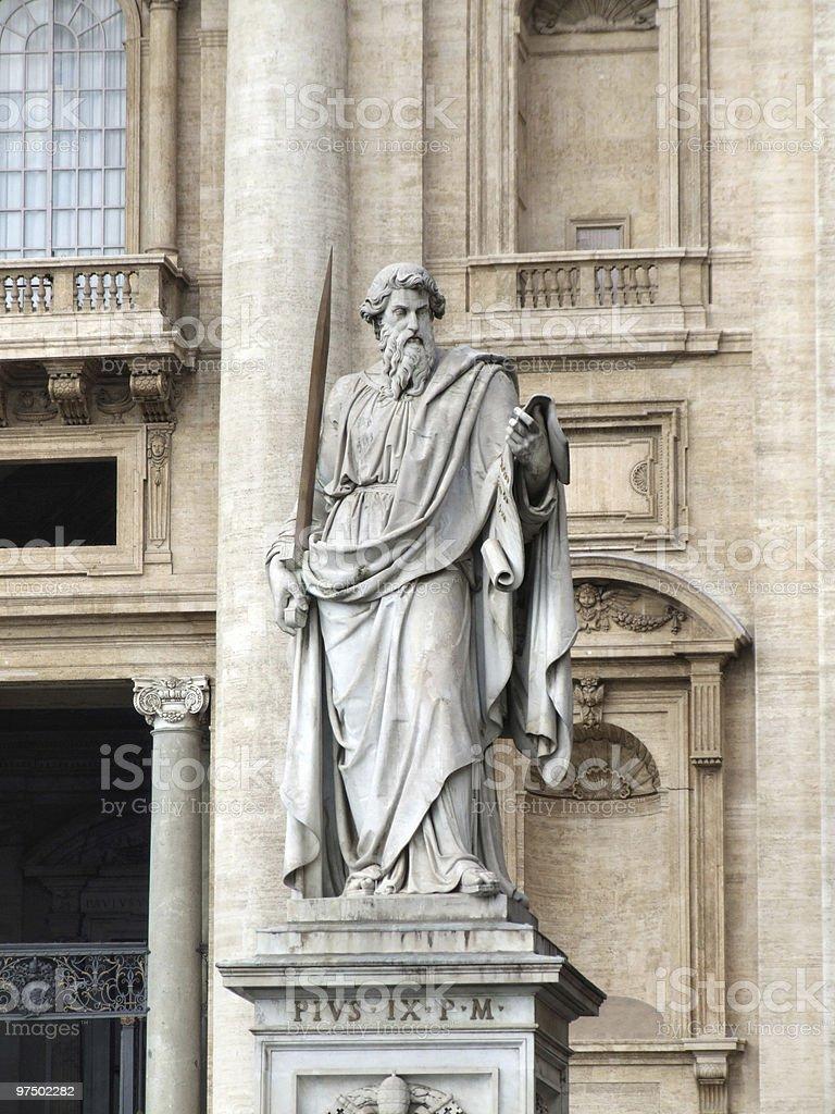 Saint Paul royalty-free stock photo