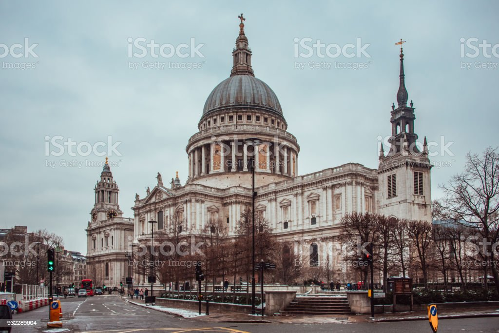 Saint Paul's Cathedral, London - foto stock