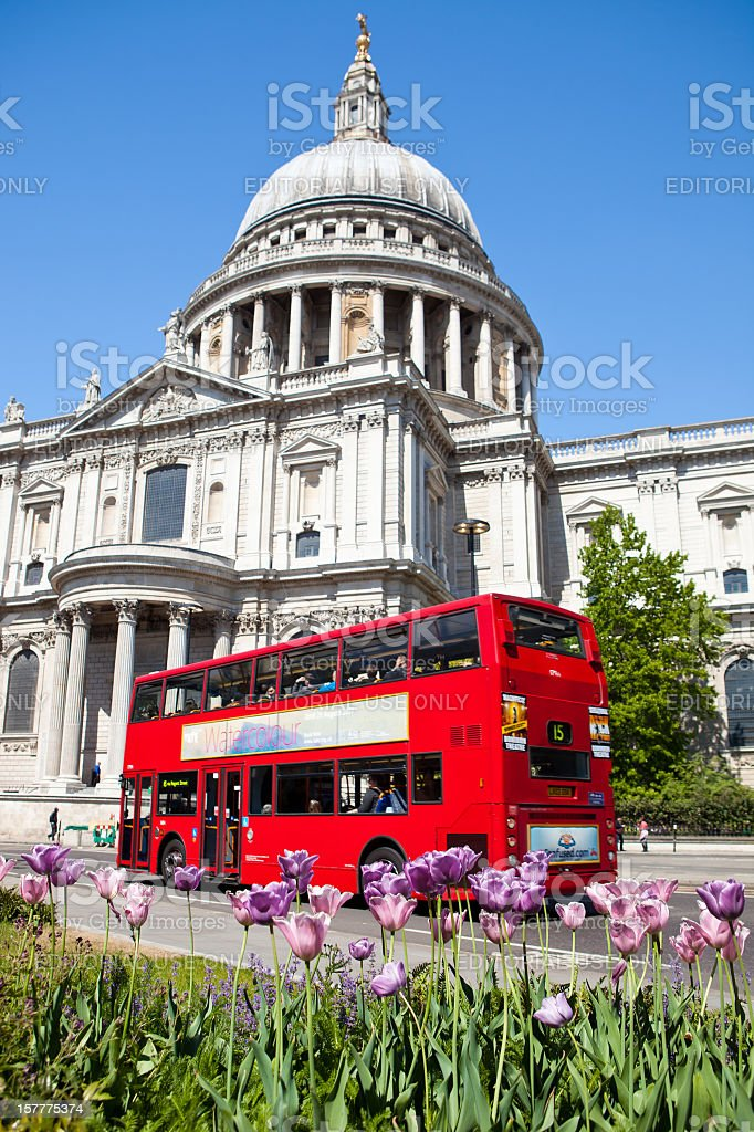 Saint Paul's Cathedral stock photo
