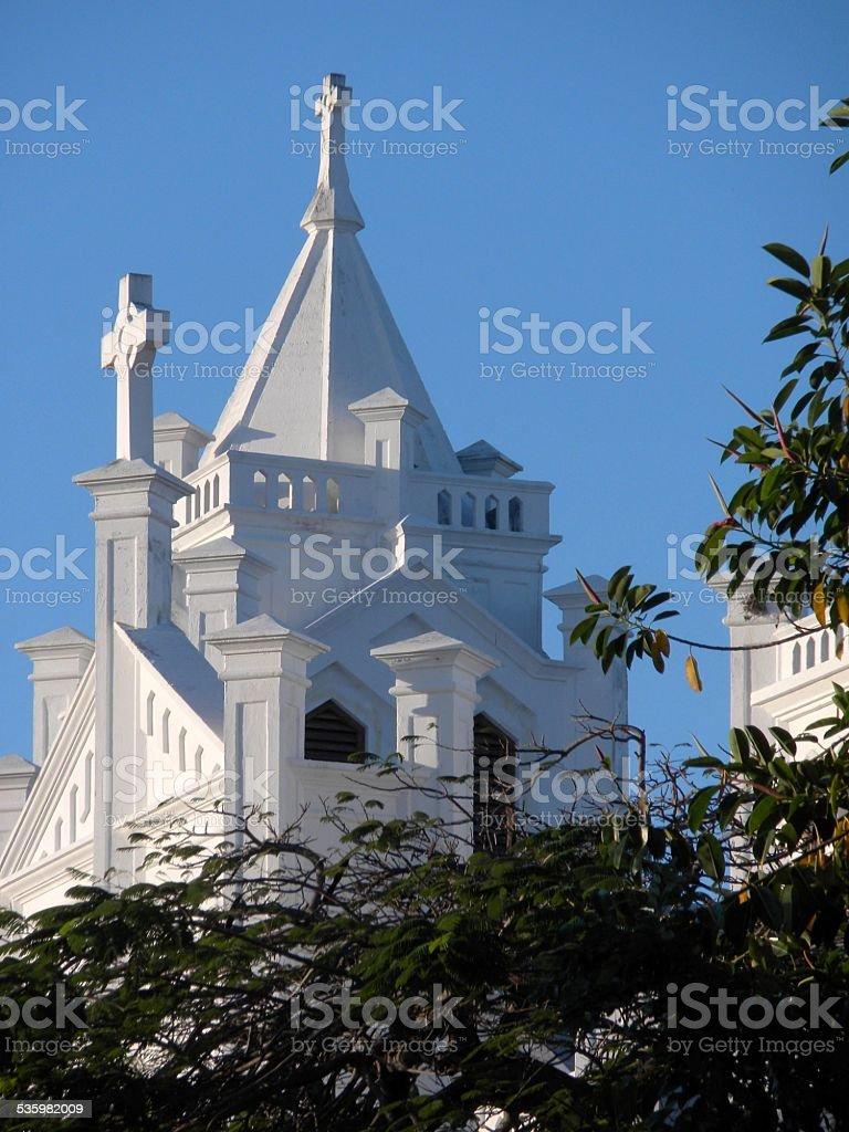 Saint Paul's Episcopal Church, Key West stock photo