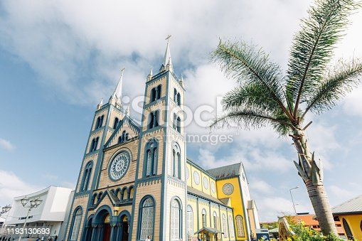 Saint Peter and Paul Cathedral exterior, Paramaribo