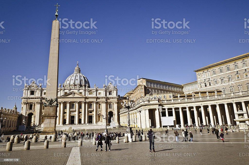 Saint Peter Basilica royalty-free stock photo