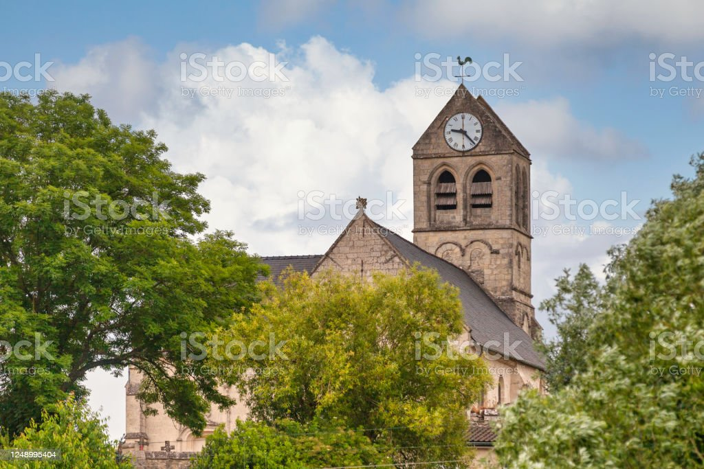 Saint Peter church in Duvy - Royalty-free Architecture Stock Photo