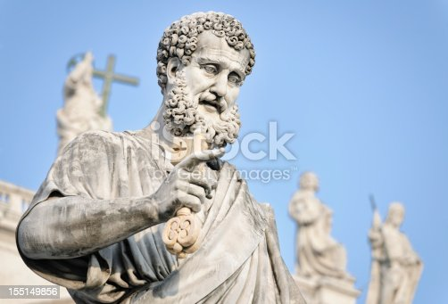 istock Saint Peter Holding a Key 155149856