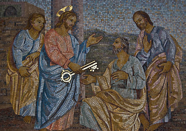 saint peter - peter the apostle stock photos and pictures