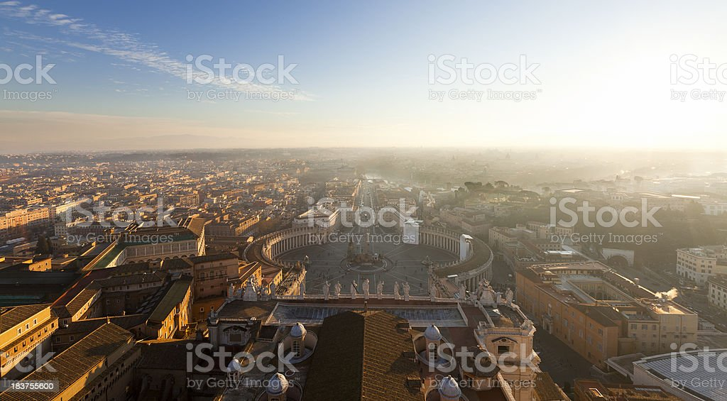 Saint Peter square royalty-free stock photo