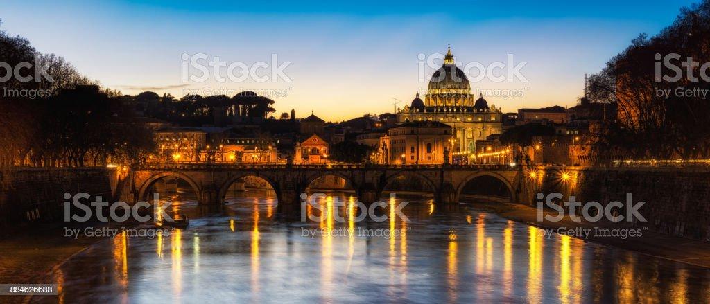 Saint Peters Basilica stock photo