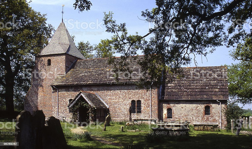 Saint Peters Church. Twineham. West Sussex. England royalty-free stock photo