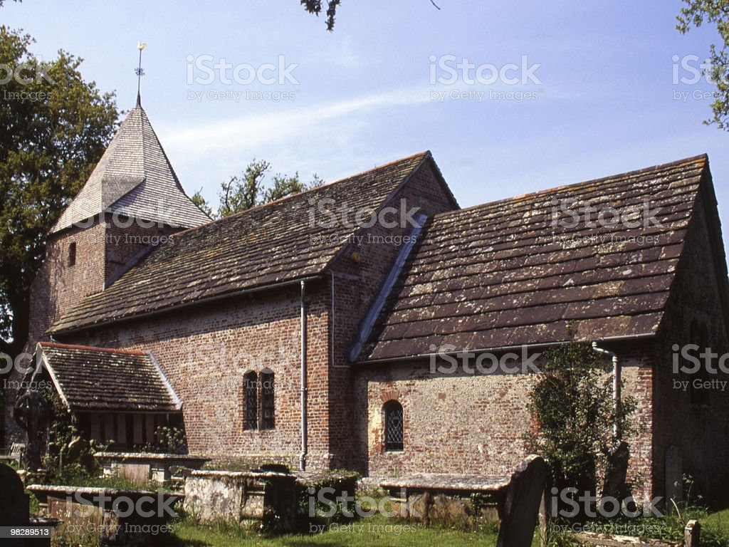 Saint Peter's Church, Twineham, West Sussex, England royalty-free stock photo