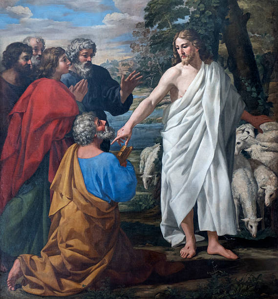 saint peter's mission - peter the apostle stock photos and pictures