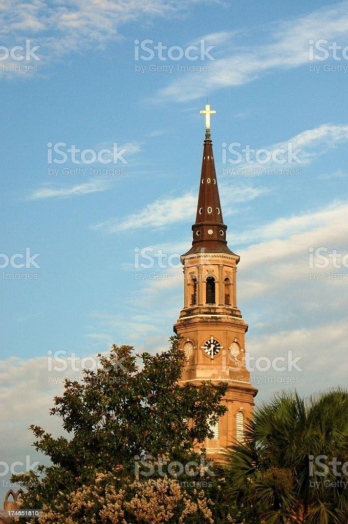 Saint Philips Episcopal Church, Charleston, SC royalty-free stock photo