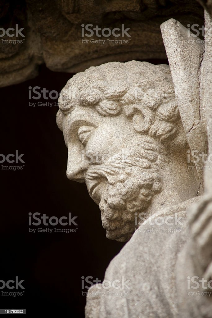 Saint royalty-free stock photo