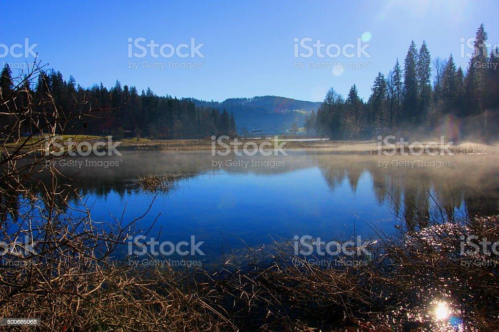 Saint point lac stock photo