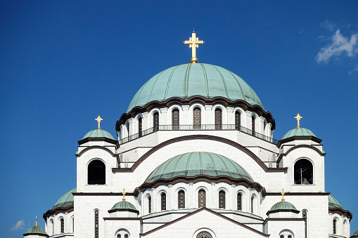 Saint Sava Cathedral In Belgrade Stock Photo - Download Image Now