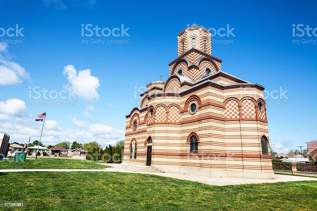Saint Simeon Mirotocivi Serbian Orthodox Church, Chicago royalty-free stock photo
