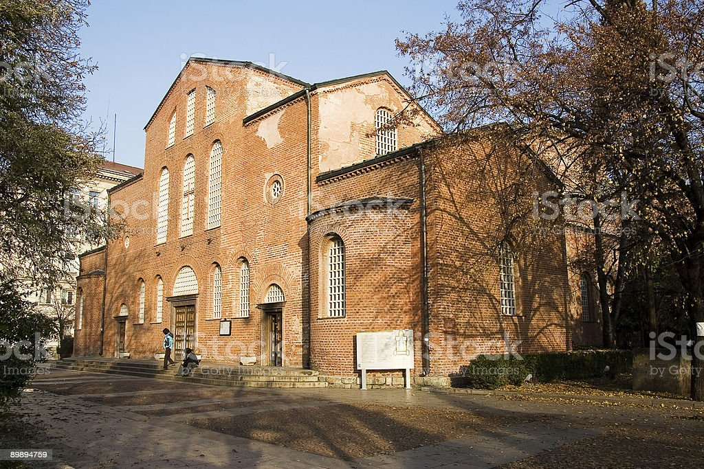 Iglesia de santa sofía foto de stock libre de derechos