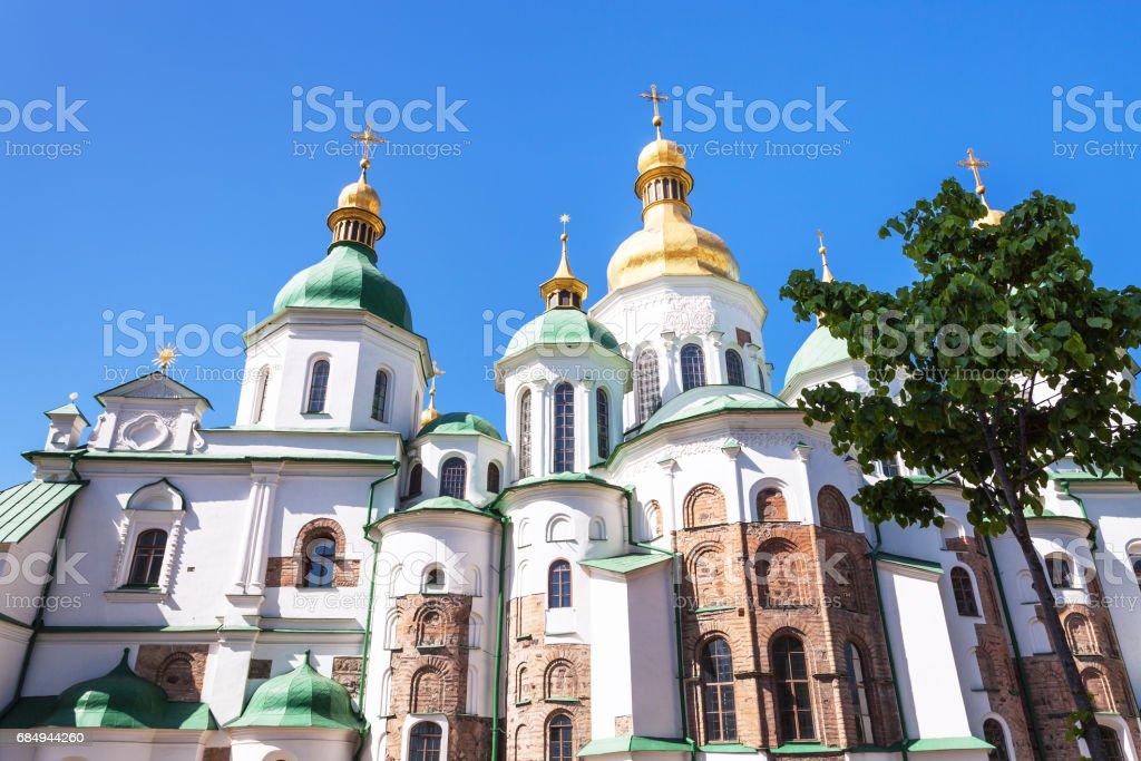 Saint Sophia Cathedral in Kiev city Lizenzfreies stock-foto