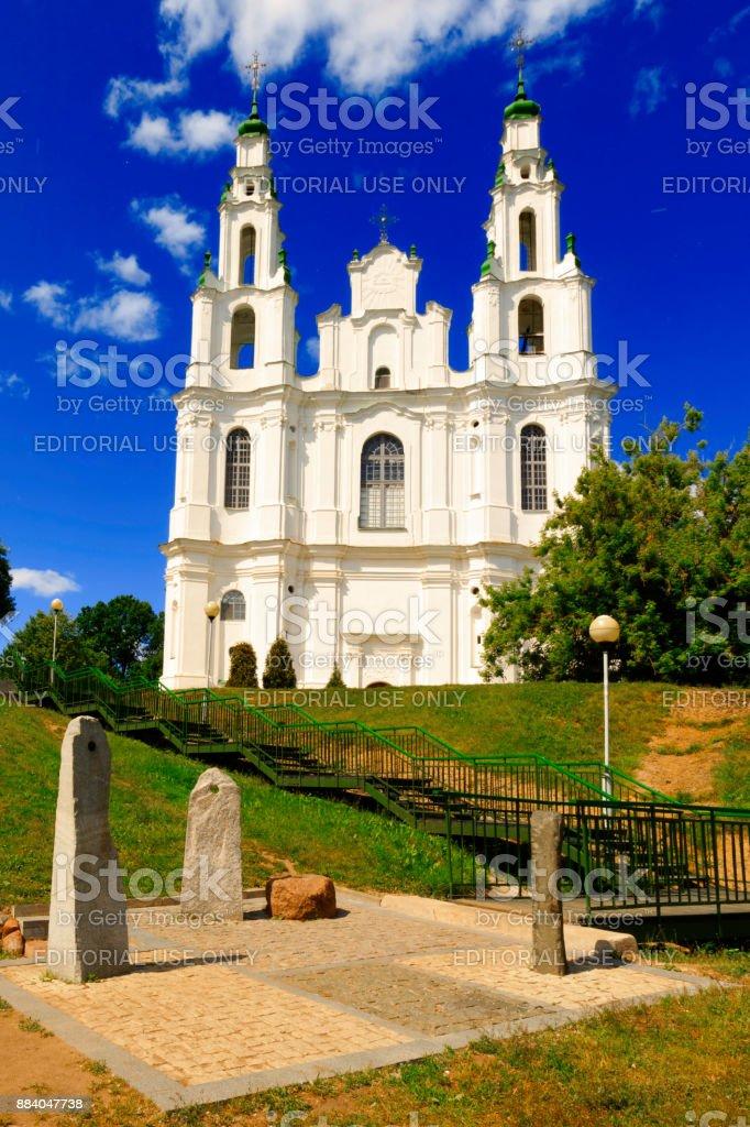 ポラツクベラルーシの聖ソフィア大聖堂 - カトリックのストックフォト ...