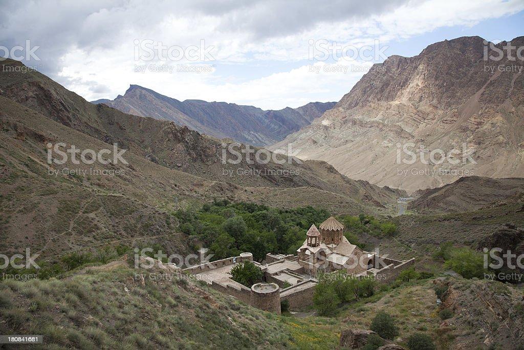 Saint Stepanos Monastery, Iran royalty-free stock photo