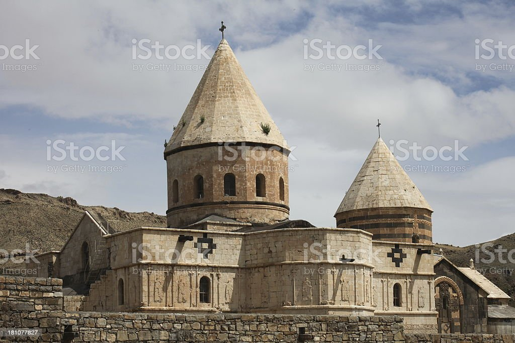 Saint Thaddeus Monastery, Iran stock photo