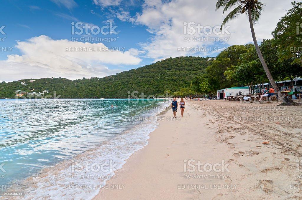 Saint Thomas, U.S. Virgin Islands stock photo