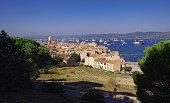 Saint Tropez city view. France