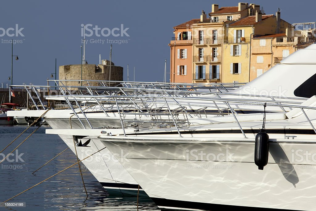 Saint Tropez harbor.bis royalty-free stock photo