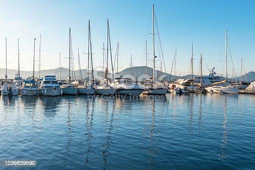 istock Saint Tropez Marina, Cote d'Azur, France 1239839590