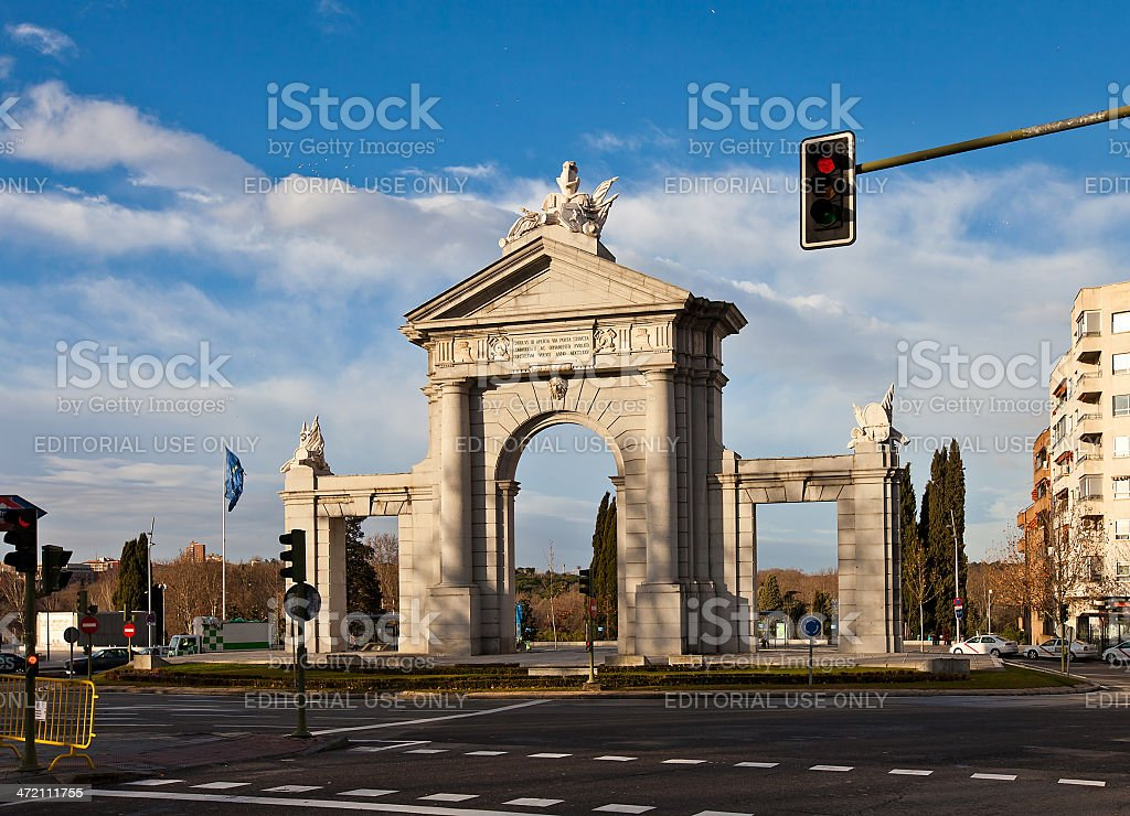 Saint Vincent Gates (La Puerta de San Vicente). Madrin, Spain