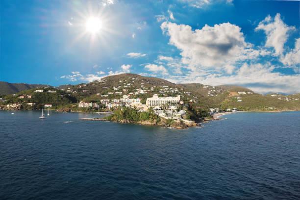 Saint Vincent island stock photo