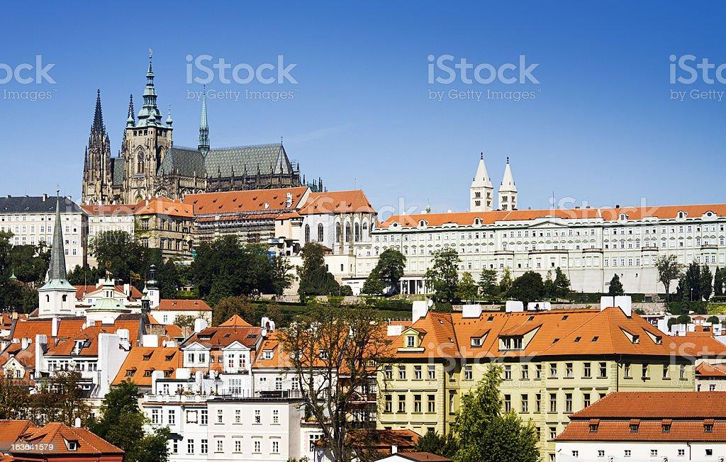 Saint Vitus Cathedral in Prague royalty-free stock photo