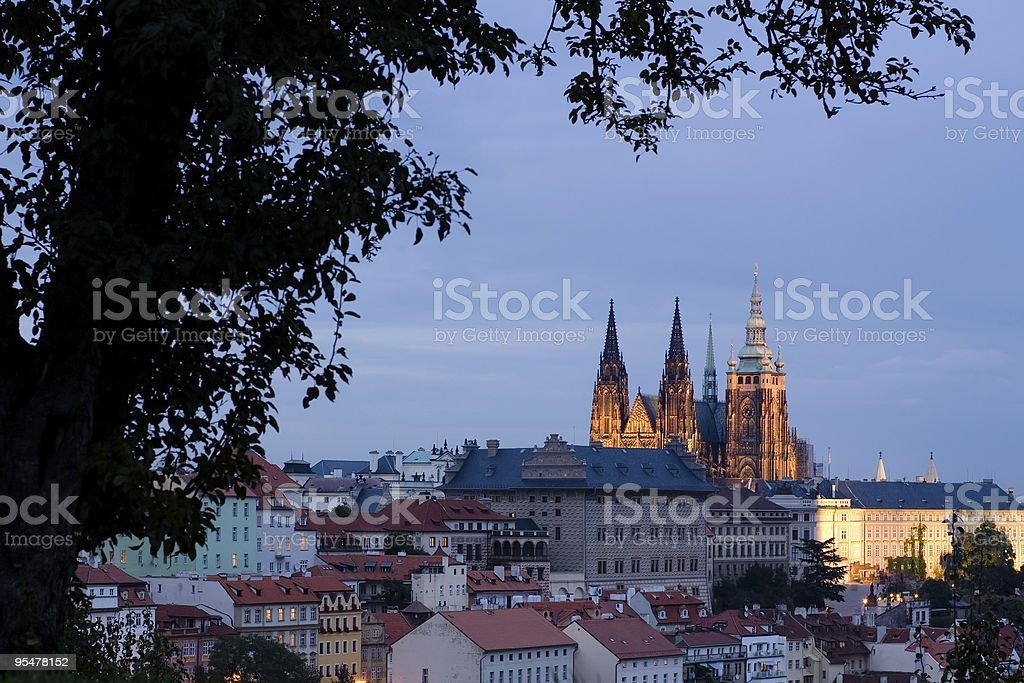Saint Vitus's Cathedral stock photo