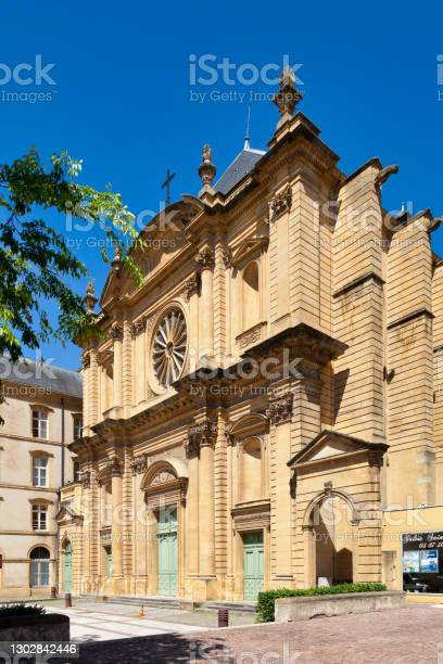 Saintclément Church In Metz Stock Photo - Download Image Now