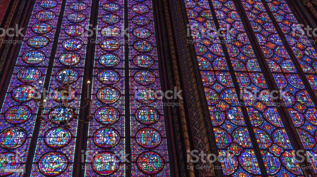 Sainte-Chapelle stock photo